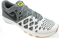 NIKE TRAIN SPEED 4 MEN'S WHITE/GREY/BLACK TRAINING SHOES, #843937-005