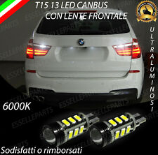 LAMPADE RETROMARCIA 13 LED T15 W16W CANBUS BMW X3 F25 6000K NO ERROR