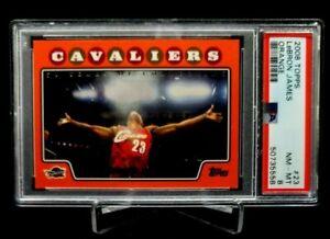 2008 Topps Orange Lebron James #23 PSA 8 #'d 1038/1199 Cavs Heat Lakers