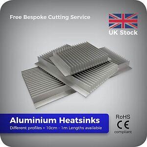 10cm -1 metre Aluminium Heatsink for LED Cooling Power Chip Transistor heatsinks