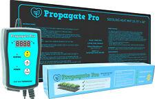 "PROPAGATE PRO Seedling Heat Mat 48"" x 20"" Indoor Soil Warmer Heating Thermostat"