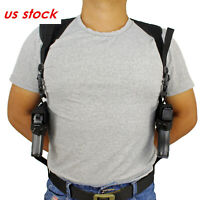 Tactical Universal Concealed Carry Left Right Hand Double Draw Shoulder Holster