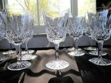 """SET OF 12 WATERFORD CRYSTAL LISMORE WATER GLASS GOBLETS  6 7/8"""" tall"""