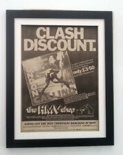 More details for the clash*london calling*(hmv)*1979*original*poster*ad*framed*fast world ship