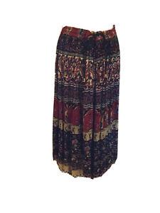 "Ladies Vintage Sag Harbour Petite Long Skirt Size Petite Medium 28-32""W T1447"
