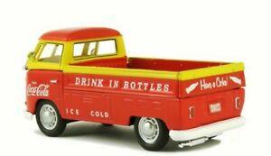 1962 Volkswagon TI Pickup NEW 1/43 Diecast Model #442338 Coca Cola