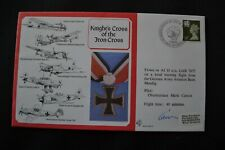 RAF Flown Cover. DM19. Knight's Cross of the Iron Cross. Pilot signed