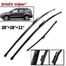 Front Rear Wiper Blades Set For Ford Escape Kuga MK2 2013 - 2017 2016 2015 2014