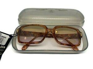 NEW! Elvis Presley TCB Sunglasses EPE LS3523 Lady Killer Brown Deadstock! RARE