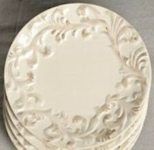 Gracious Goods Acanthus Collection Salad Plate - Cream