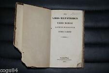 De Viris Illustribus Urbis Romae - C. F. Lhomond - Prima ed. 1856