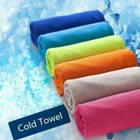 Sports Instant Cooling Towel Ice Cold Enduring Running Jogging Gym Chilly #3 Hot