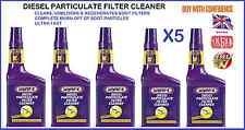 5 X Wynns DPF Filtro De Partículas Diesel Limpiador Regenerador Fluido Aditivo A1