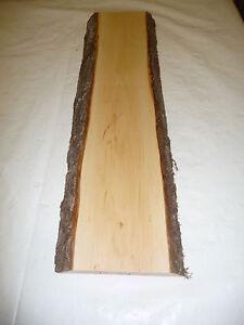 Erlenholz mit Rinde; 54x16x2,5cm; Artnr 91