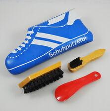 altes Schuhputzetui Schuhputzpflegeset Schuhputzset Reiseset Vintage Turnschuh