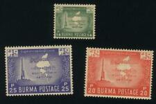 Burma STAMP 1953 ISSUED INDEPENDENCE DAY SET,MNH  RARE
