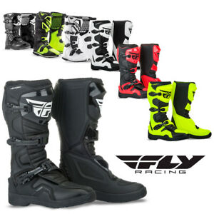 Fly Racing Maverik Motocross Boots Dirt Bike ATV Enduro Motorcycle Off-Road MX