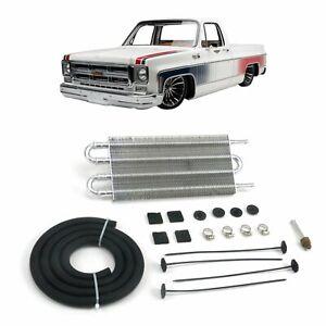"73-87 Chevy Truck 13"" Transmission Oil Fluid Cooler k20 4l60e 400 grande C10 350"