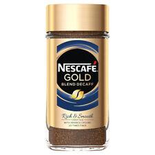 Nescafe Gold Blend Decaf Granules 200g Jar - Golden Roast Decaff Decaffeinated