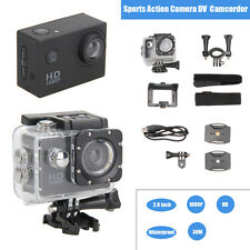 HD 1080P Waterproof Sports Action Camera Video Camcorder DV Cam+ Parts For Gopro