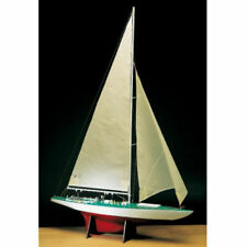 """Amati Yacht Constellation 24"""" Wood/Resin America's Cup Series Ship Model Kit"""