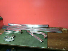 1959 Ford Ranchero Original bed trim 9 piece NO TAILGATE TRIM Used OEM Steel