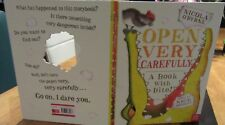 OPEN Very CAREFULLY ~ Nicola O'Byrne Nick Bromley. CROCODILE 1st Hb  NEW in MELB