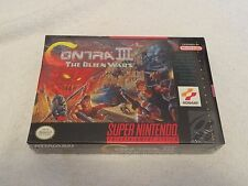 SNES Contra III: The Alien Wars Video Game New Sealed Free Shipping