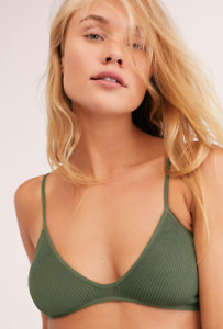 NEW Free People Intimately Seamless One Kiss Bra in Army XS/S-M/L $30   FF-205