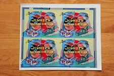 Batman Robin Member Ring Club 1966 Vari-Vue DC Batmobile Pre-Production Sheet