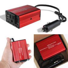 MASCARELLO 150W Car Power Inverter DC 12V to AC 110V Converter With  2 USB Ports