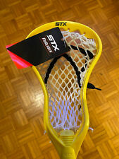 🔥Brand New Stx Mini Proton Lacrosse Stick Fiddlestick Taxi Yellow Warrior Brine