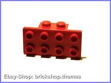 Lego Halterung Platte Winkel rot (1 x 2 - 2 x 4) - 93274 - Bracket - NEU / NEW