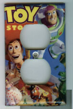 Toy Story Single Gang Outlet Cover Woody Buzz Lightyear