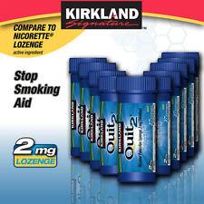Nicotine Lozenge Quit 2 MINT 2mg 270 Lozenges 10 Tubes 10 x 27 ct stop smoking
