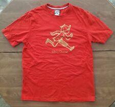 Play Cloths Red And Gold Running Jack T Shirt 2XL XL Original Pusha T Clipse