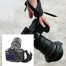 PU Hand Grip Wrist Strap Photography Accessories for Nikon Canon Camera TM 9YH2