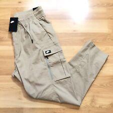 Nike Sportswear Woven Cargo Pants Size XL Beige Khaki BV3127-247 NEW