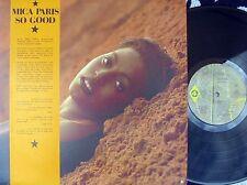 Mica Paris ORIG OZ LP So good NM '88 Island L38934 R&B Urban Soul
