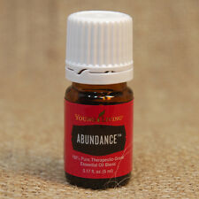 Young Living ABUNDANCE 5 mL E O NEW Unopened SHIPS in 24 hrs INCREASE ENERGY
