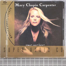 Time* Sex* Love* by Mary Chapin Carpenter SACD, Feb-2002, Columbia