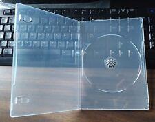 New MegaDisc Premium 7mm Slim Size DVD Case Single Super Clear 1 Disc Box 100Pk