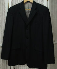 "BALMAIN Men's Tuxedo Jacket 44"" Chest 40L Satin Trimmed Wool Formal Blazer Coat"