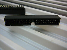 FOXCONN 2.54mm 39-Pin Straight Male Shrouded PCB Box Header IDC Socket 5/PKG