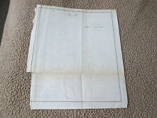 "Original 1853 U. S. Coast Survey Nautical Chart ""Romer & Flynn'S Shoals, Ny Bay"""