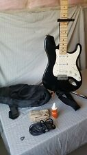 Fernandez electric guitar LE 1Z 3S 2013 BLK / M and kit Black and white