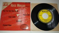 """RUSS MORGAN Does Your Heart Beat For Me RARE 7"""" EP Epic EG-7018 Mid-Century Art"""