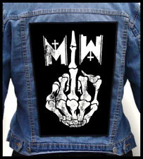 MOTIONLESS IN WHITE - Middle Finger --- Giant Backpatch Back Patch