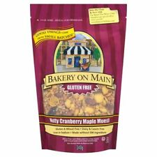 Bakery On Maine Nutty Cranberry & Maple Granola [340g] (4 Pack)