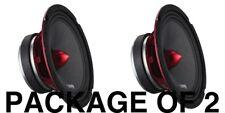 "2 DS18 PRO-X6.4BM 1200W Max 6.5"" Midrange Speakers Loudspeaker With Bullet 4 Ohm"